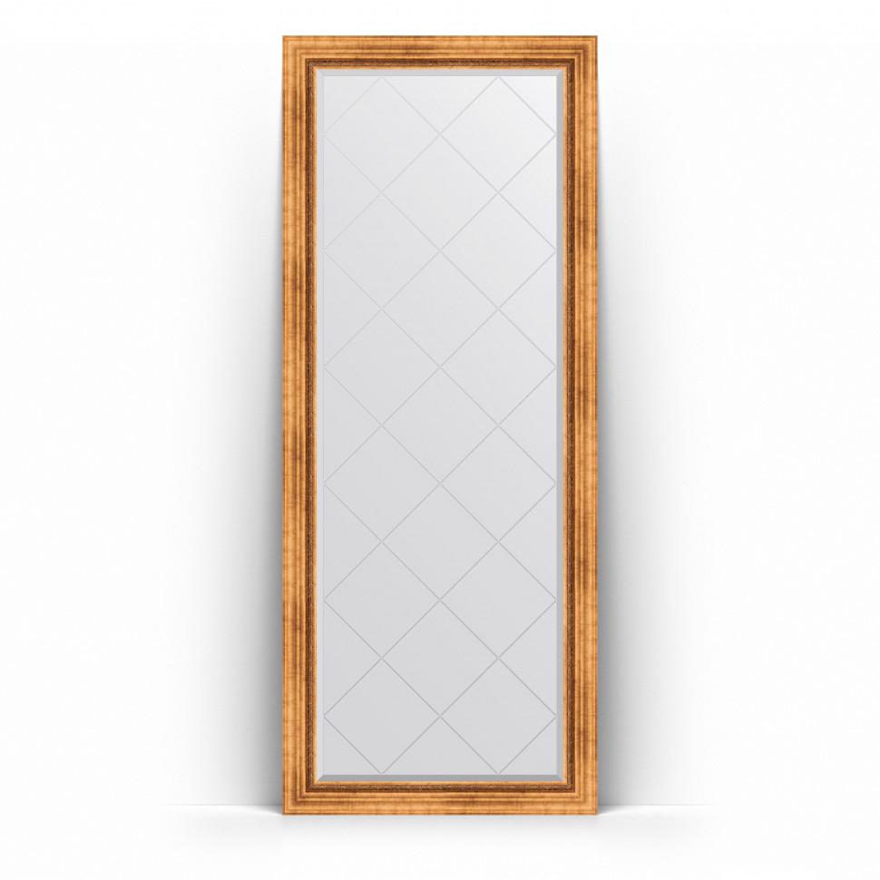 Фото - Зеркало напольное 81х201 см римское золото Evoform Exclusive-G Floor BY 6317 зеркало напольное 81х201 см чеканка золотая evoform definite floor by 6008