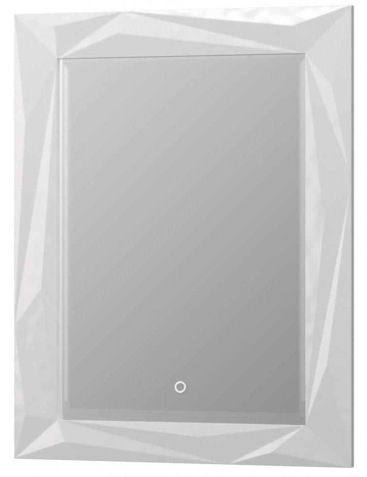 Зеркало 70,2х90,2 см белый глянец Aima Design Brilliant/Cristal Light У51937