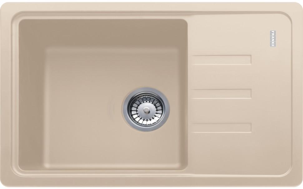Кухонная мойка Franke Malta BSG 611-62 бежевый 114.0391.170 franke galileo бежевый