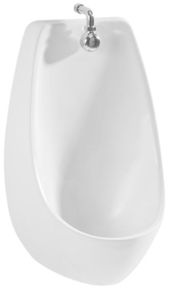 Писсуар подвесной без отверстия для подвода воды Jika Domino 8411000000001 цена