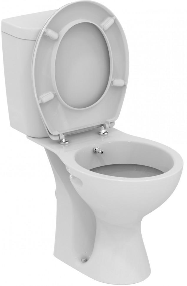 купить Унитаз-компакт с сиденьем и функцией биде Vidima Seva Fresh E404961 по цене 10890 рублей