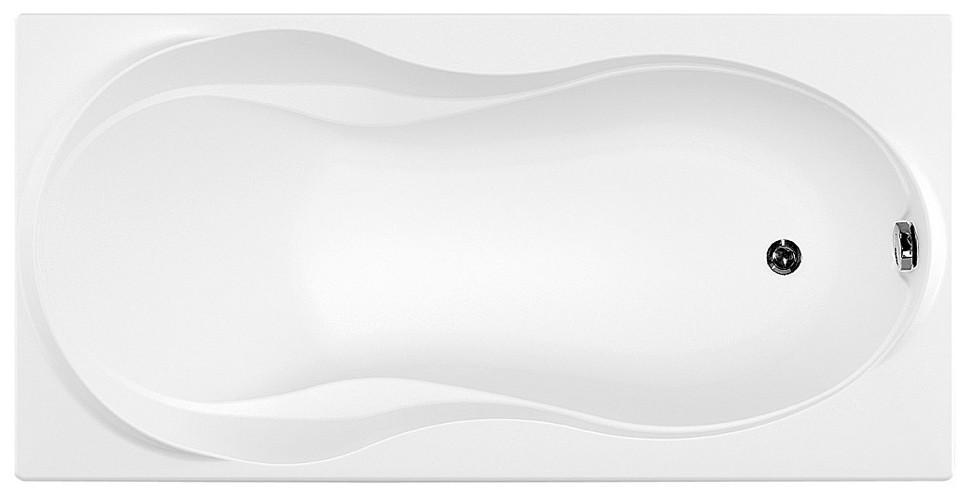 Акриловая ванна 170х80 см Aquanet Grenada 00205398 акриловая ванна aquanet delight 208600 170x78