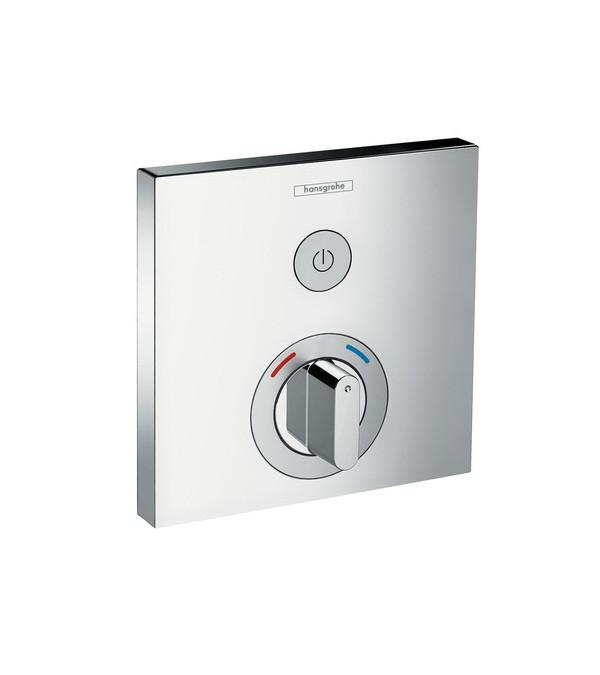 Фото - Встраиваемый смеситель для душа Hansgrohe ShowerSelect 15767000 переключатель потоков для душа hansgrohe showerselect 15736400