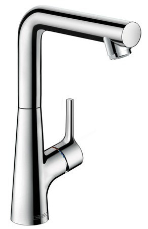 Смеситель для раковины 210 с донным клапаном Hansgrohe Talis S 72105000 смеситель для раковины hansgrohe talis s 72013000