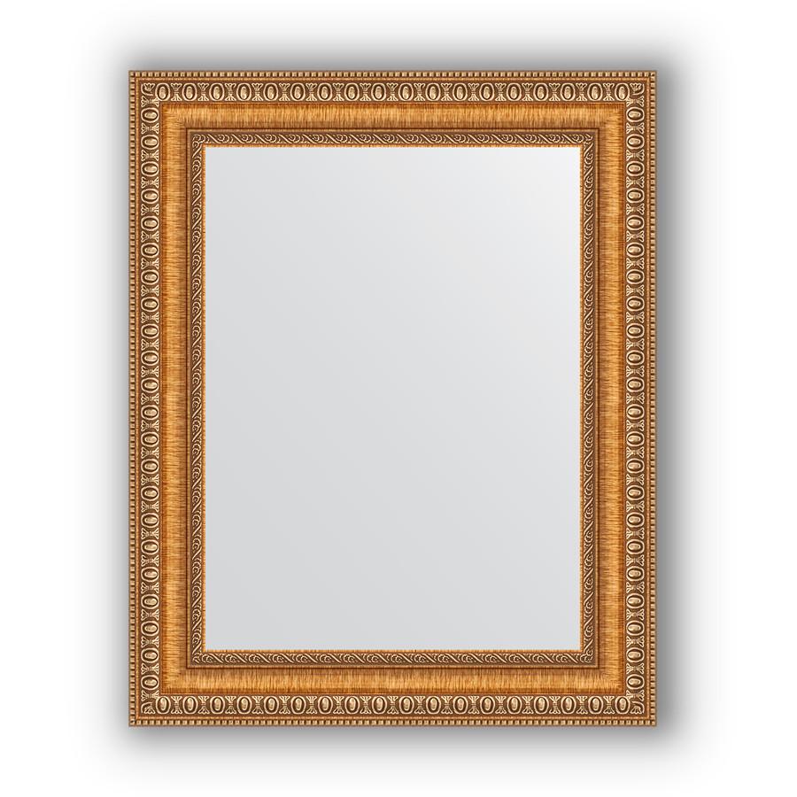 Зеркало 41х51 см золотые бусы на бронзе Evoform Definite BY 3010 зеркало evoform definite 155х75 золотые бусы на бронзе