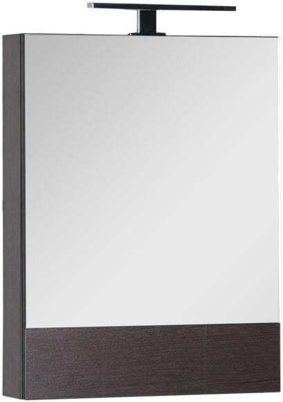 Зеркальный шкаф 58х67 см венге Aquanet Нота 00159108