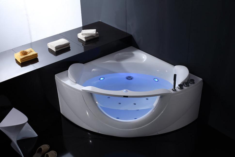 Акриловая гидромассажная ванна 150х150 см Orans 6510300