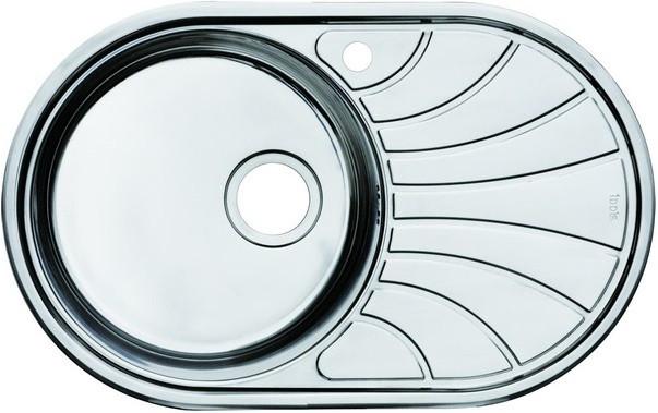 Кухонная мойка полированная сталь IDDIS Suno SUN77PLI77 фото