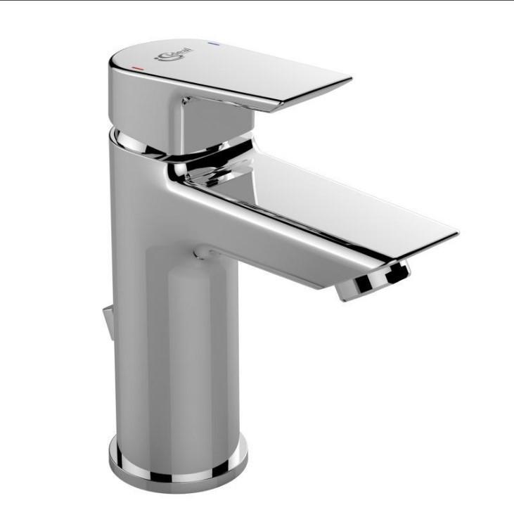 Смеситель для раковины с донным клапаном Ideal Standard Tesi A6557AA смеситель для раковины с донным клапаном ideal standard vito b0405aa