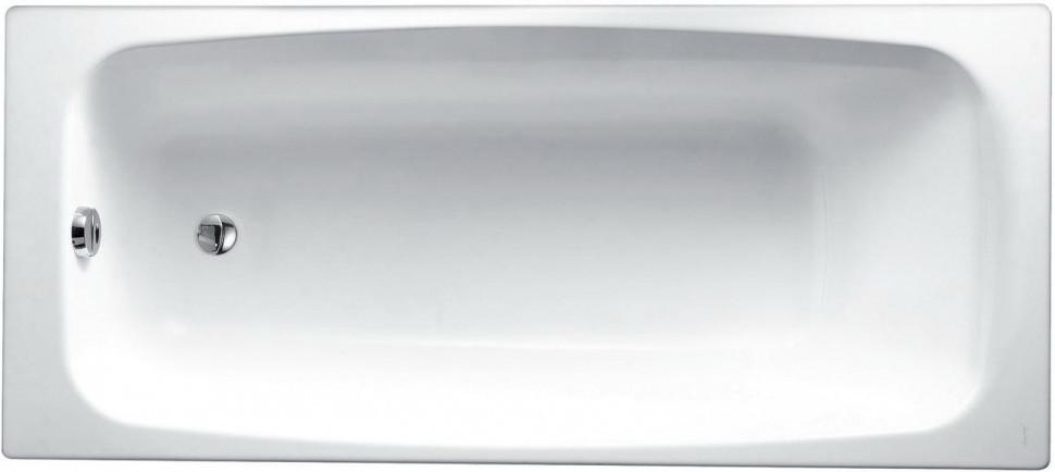 Чугунная ванна 170 x75 см без противоскользящего покрытия Jacob Delafon Diapason E2937-S-00 ванна из искусственного камня jacob delafon elite 170x75 с щелевидным переливом e6d031 00 без гидромассажа