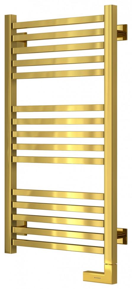 Полотенцесушитель электрический 800х400 золотой МЭМ правый Сунержа Модус 2.0 03-5601-8040 полотенцесушитель электрический 800х400 белый глянец мэм правый сунержа модус 2 0 12 5601 8040