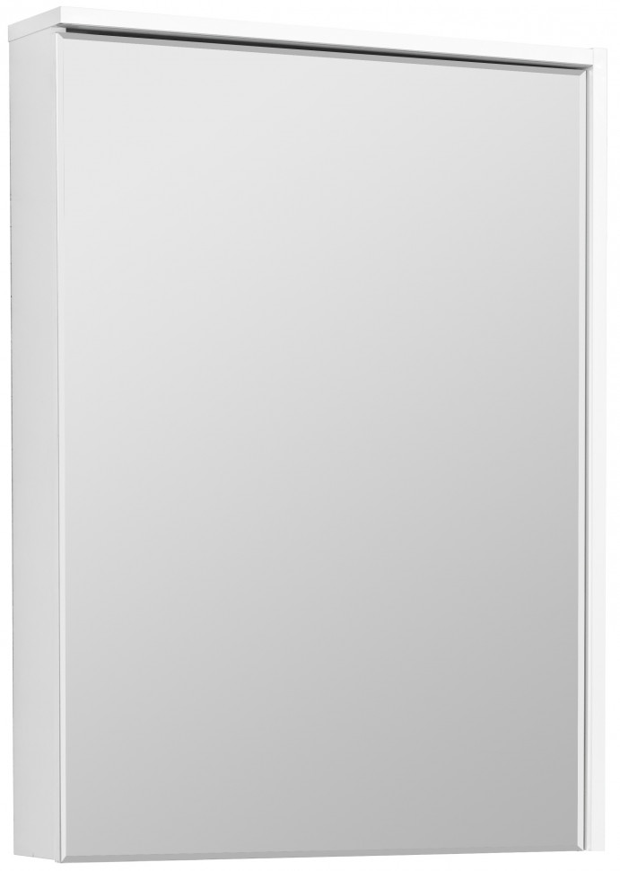 Зеркальный шкаф 60х83,3 см белый глянец R Акватон Стоун 1A231502SX010 зеркальный шкаф 65х85 см белый глянец r акватон домус 1a166202ll01r