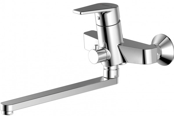 Смеситель для ванны Bravat Line F65299C-LB-RUS bravat смеситель для ванны с душем излив 300 мм bravat line f65299c 1l