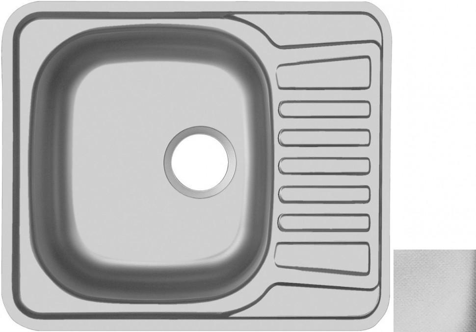 Кухонная мойка декоративная сталь Ukinox Комфорт COL580.488 -GT6K 2L ukinox fad 760 470 gt6k l