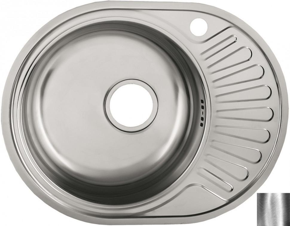 Кухонная мойка полированная сталь Ukinox Фаворит FAP577.447 -GT6K 2L ukinox fad 760 470 gt6k l