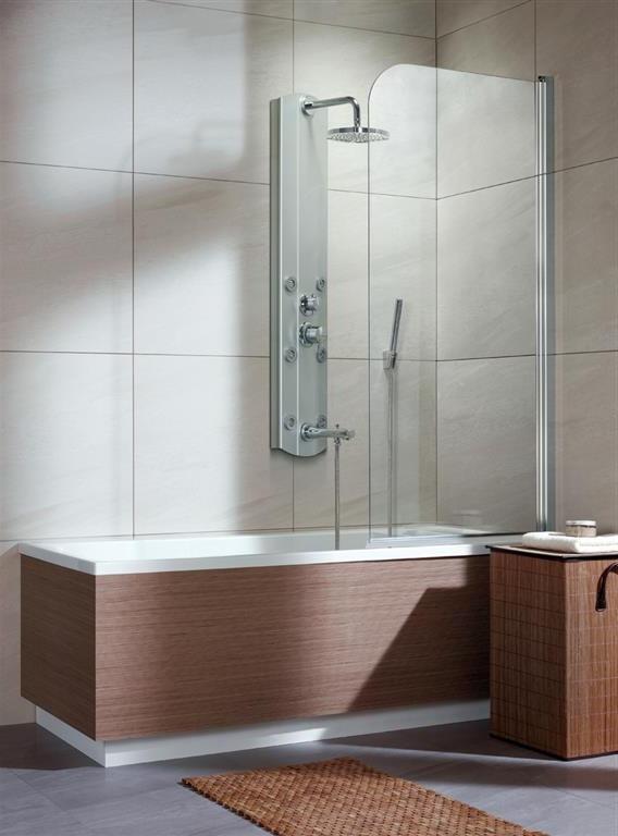 Шторка для ванны Radaway EOS PNJ 70 R прозрачное шторка для ванной radaway