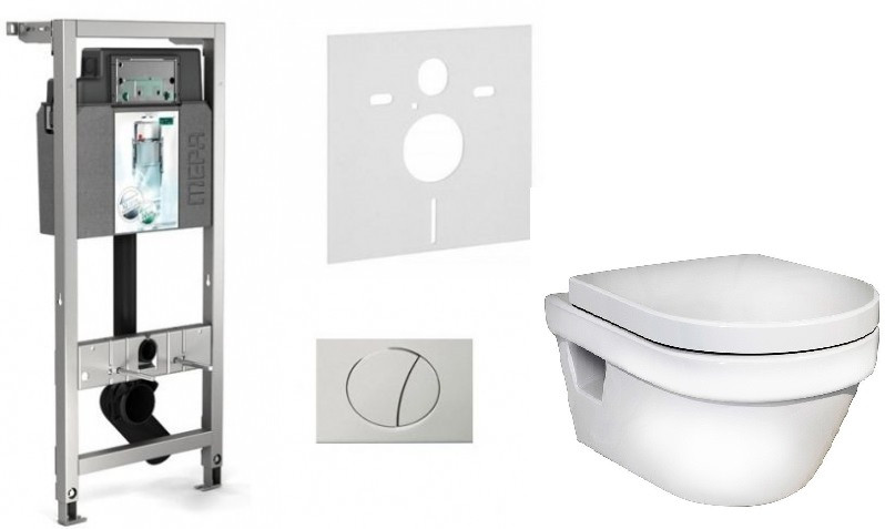 Комплект Gustavsberg Hygienic Flush 514306+5G84HR01 комплект gustavsberg viega с унитазом gustavsberg hygienic flush wws безободковый с сиденье микролифт