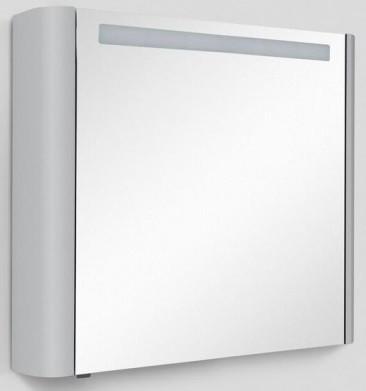 Фото - Зеркальный шкаф 80х70 см серый шелк глянец R Am.Pm Sensation M30MCR0801FG зеркальный шкаф 80х70 см белый глянец l am pm sensation m30mcl0801wg