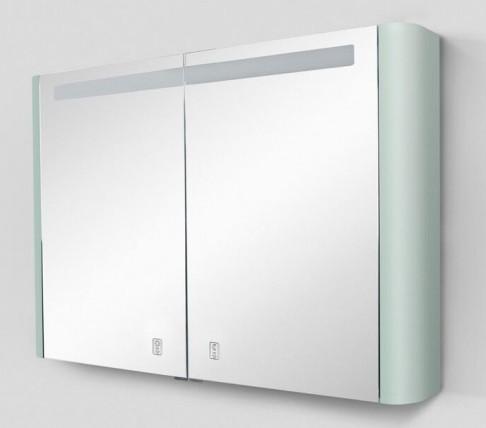 Зеркальный шкаф 100х70 см мятный глянец Am.Pm Sensation M30MCX1001GG
