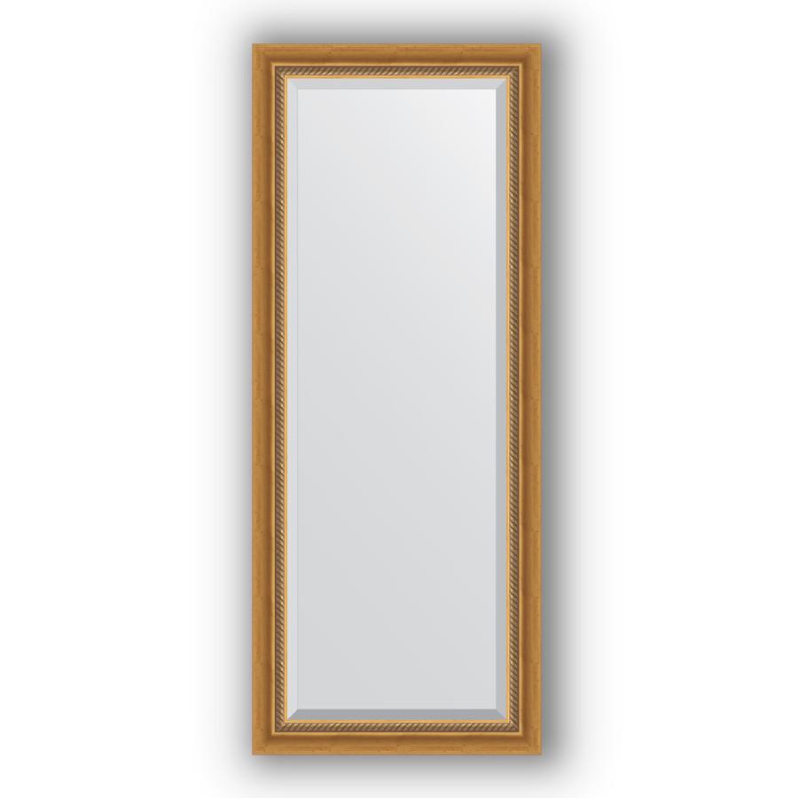 Зеркало 58х143 см состаренное золото с плетением Evoform Exclusive BY 3535