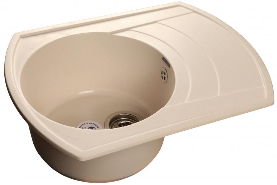 все цены на Кухонная мойка белый GranFest Rondo GF-R650L онлайн