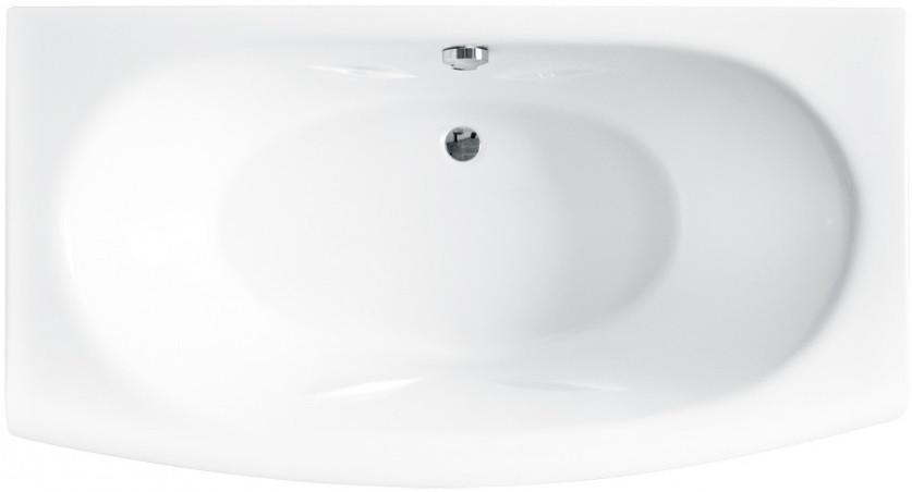 Акриловая ванна 160х86 см Besco Telimena WAT-160-JA акриловая ванна besco bianka 150x95 l
