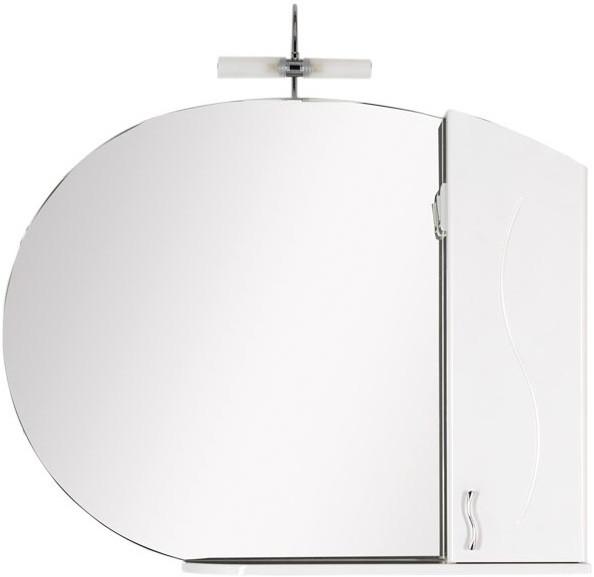 Зеркальный шкаф 108х84,9 см белый Aquanet Моника 00186776