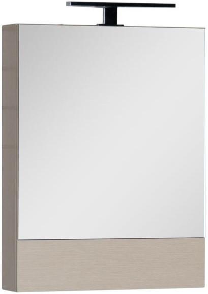 Зеркальный шкаф 58х67 см светлый дуб Aquanet Нота 00158856