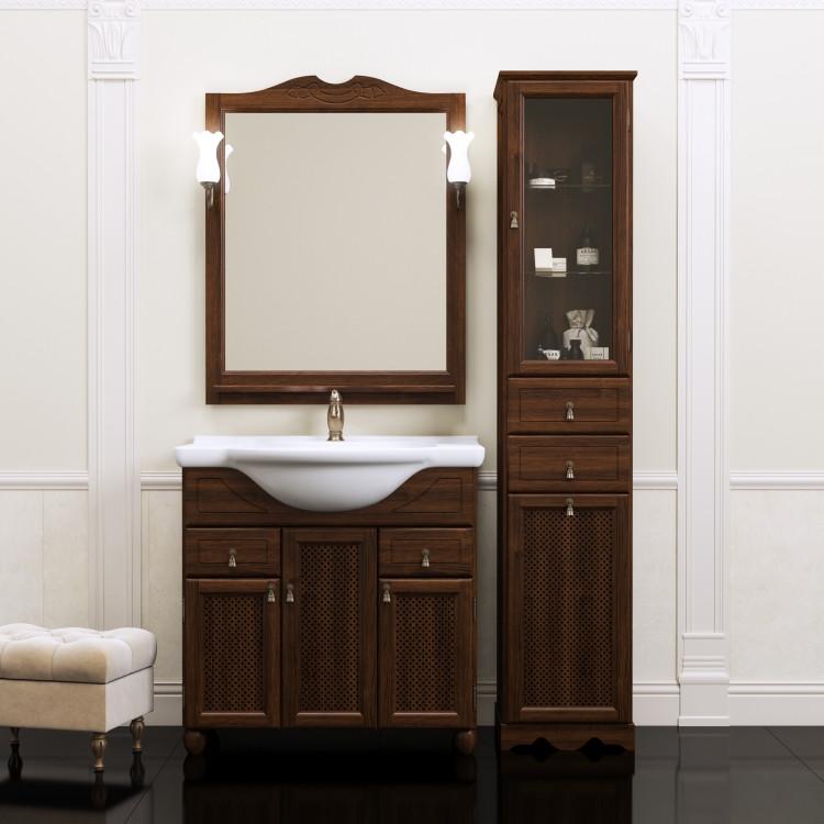 Фото - Комплект мебели орех антикварный 87 см Opadiris Тибет TIBET80KOMP46RES комплект мебели орех антикварный 56 см opadiris клио karla75komp46