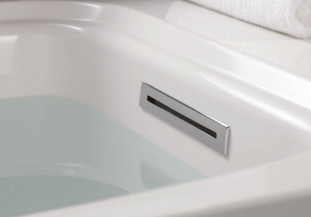 Слив-перелив к французским ваннам Jacob Delafon Elite E6D071-CP слив перелив jacob delafon e6d124 cp хром