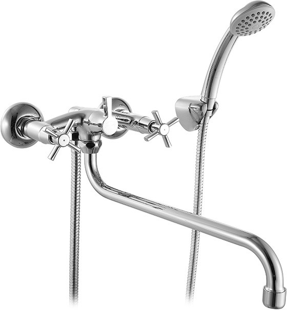 Смеситель для ванны Milardo Ontario ONTSBLCM10 смеситель milardo bering be270bw6k w21mi