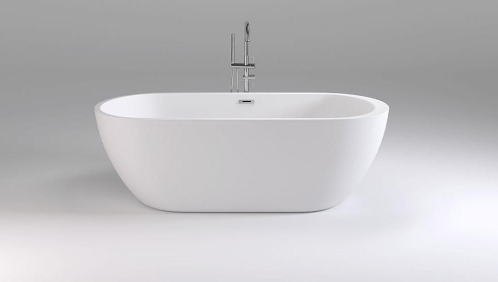 Акриловая ванна 170х80 см Black & White Swan 105SB00 фото
