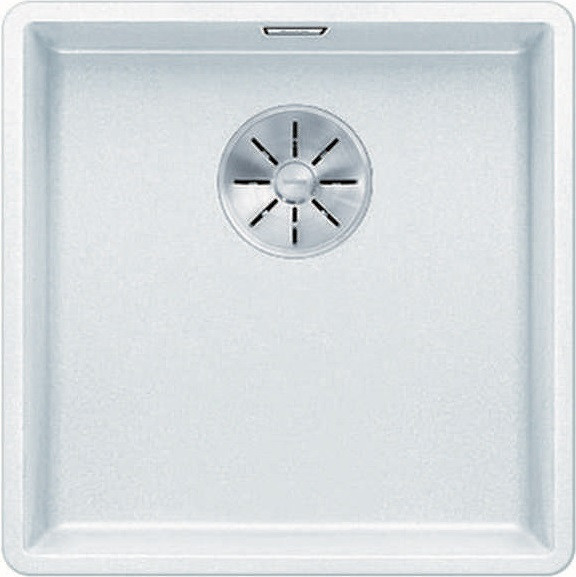 Кухонная мойка Blanco Subline 400-F InFino белый 523497 кухонная мойка blanco subline 320 f белый с отв арм infino 523419
