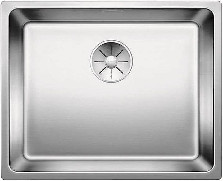 Кухонная мойка Blanco Adano 500-IF InFino зеркальная полированная сталь 522965 кухонная мойка blanco claron 500 if infino зеркальная полированная сталь 521576