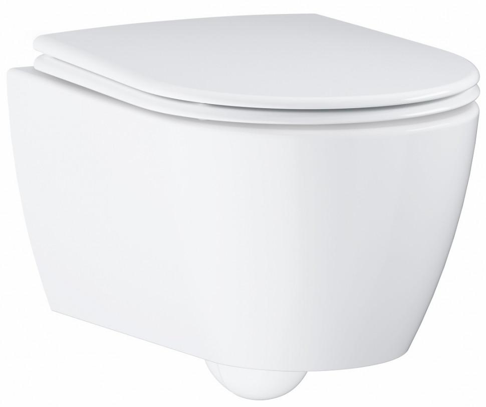Подвесной безободковый унитаз Grohe Essence Ceramic 3957100H