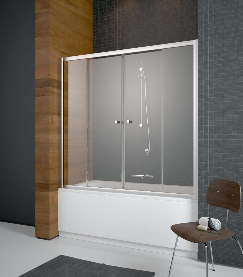 Шторка для ванны Radaway Vesta DWD 140 прозрачное