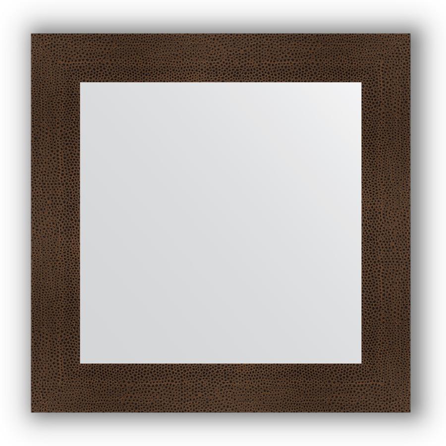 Фото - Зеркало 70х70 см бронзовая лава Evoform Definite BY 3152 зеркало evoform definite floor 201х81 бронзовая лава
