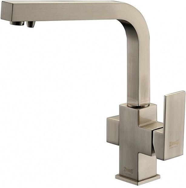Смеситель для кухни с подключением к фильтру Zorg Sanitary ZR 311 YF-NICKEL фото