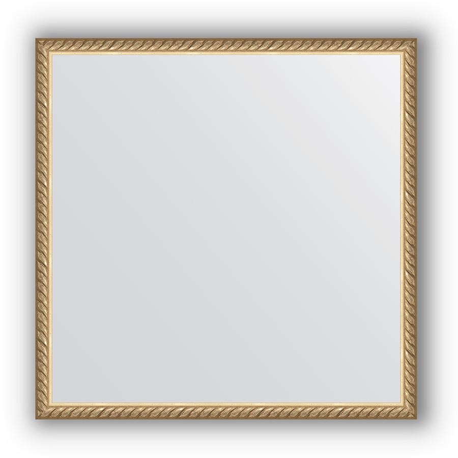 Фото - Зеркало 58х58 см витая латунь Evoform Definite BY 0617 dl 0617 pink