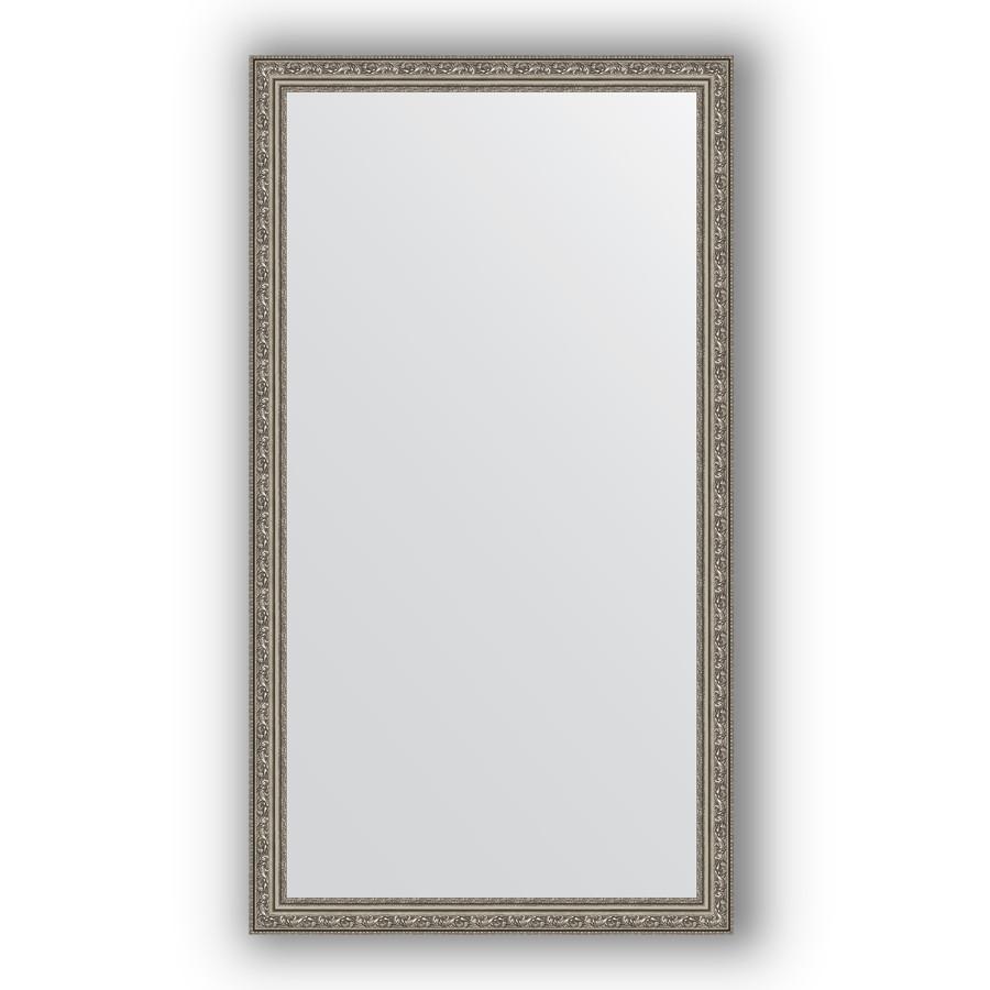 Фото - Зеркало 74х134 см виньетка состаренное серебро Evoform Definite BY 3296 зеркало 64х114 см виньетка состаренное серебро evoform definite by 3200