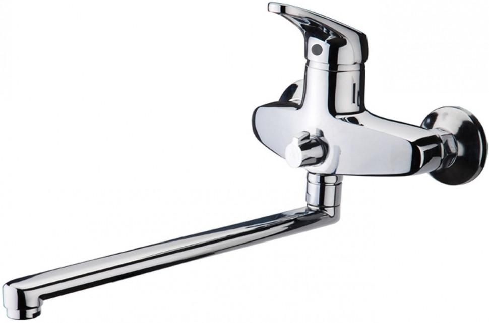 Смеситель для ванны Kaiser County 55255 смеситель для ванны коллекция county 55221 4 однорычажный белый kaiser кайзер