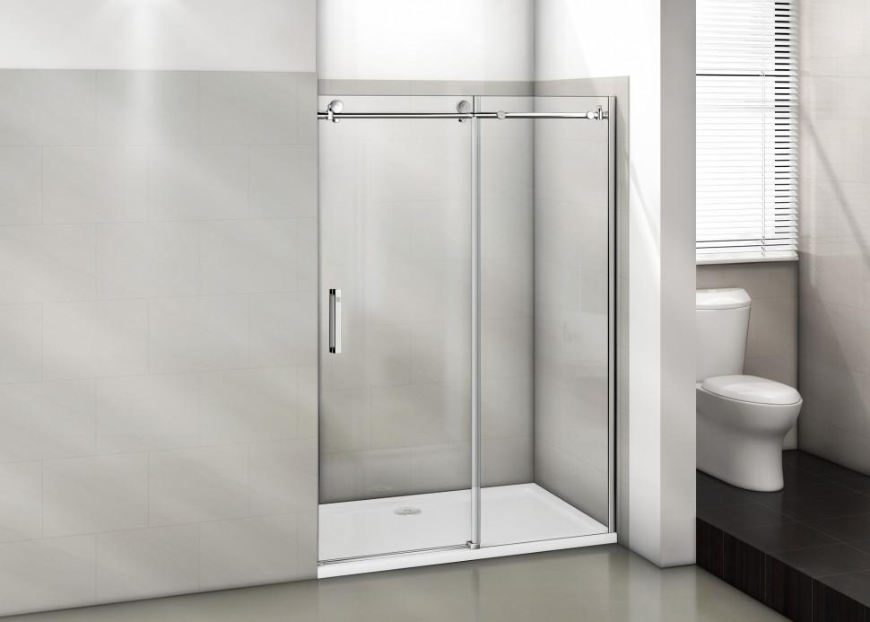 Душевая дверь 130 см Good Door Puerta WTW-130-C-CH прозрачное душевая дверь good door galaxy wtw 120 c ch