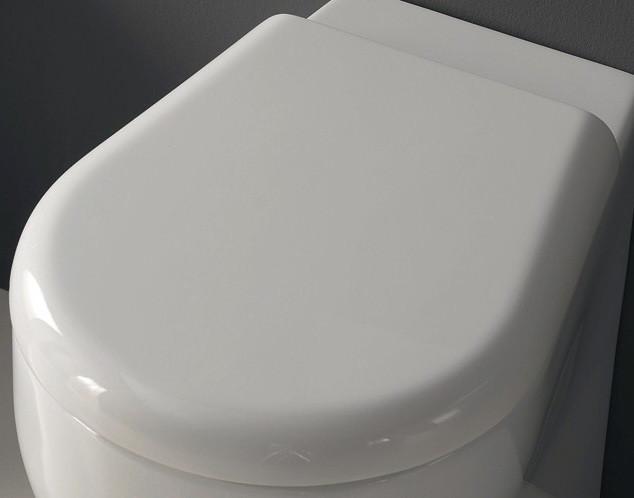 Сиденье для унитаза с микролифтом Kerasan K09 367401bi/cr фото