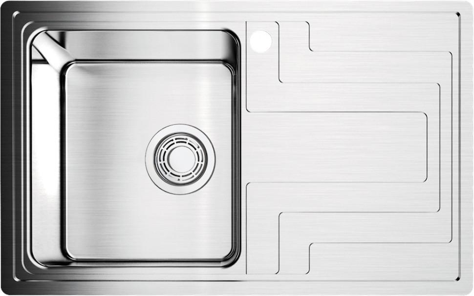 Кухонная мойка нержавеющая сталь Omoikiri Mizu 78-1-L omoikiri mizu 71 1 l