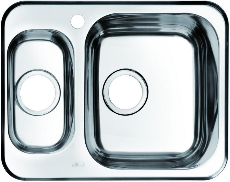 купить Кухонная мойка полированная сталь IDDIS Strit STR60PZI77 онлайн