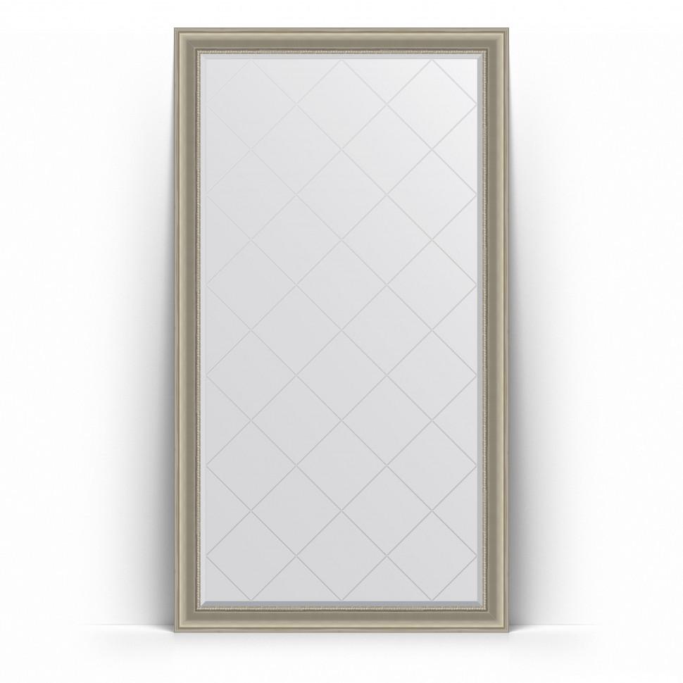 Фото - Зеркало напольное 111х201 см хамелеон Evoform Exclusive-G Floor BY 6360 зеркало напольное 111х201 см чеканка золотая evoform definite floor by 6020