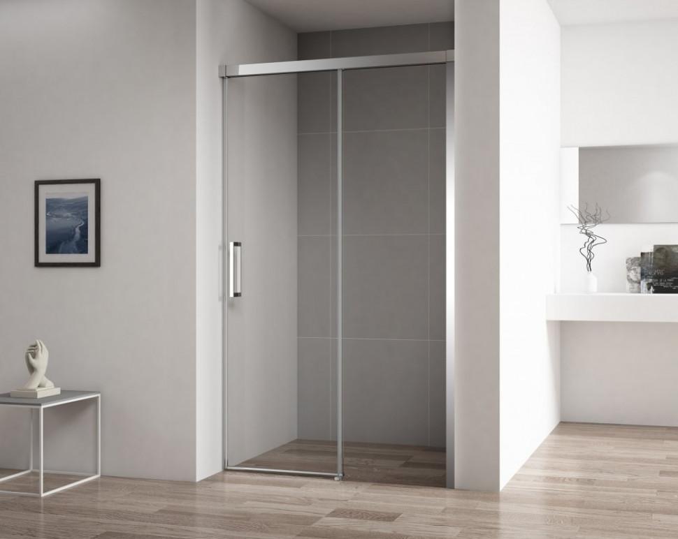 Душевая дверь 120 см Cezares DUET SOFT-BF-1-120-C-Cr прозрачное душевая дверь cezares stylus soft bf 1 120 прозрачная хром stylus soft bf 1 120 c cr
