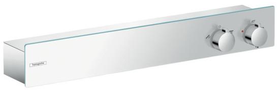 Фото - Термостат для 2 потребителей Hansgrohe ShowerTablet 600 13108000 термостат для ванны hansgrohe showertablet 600 13109400