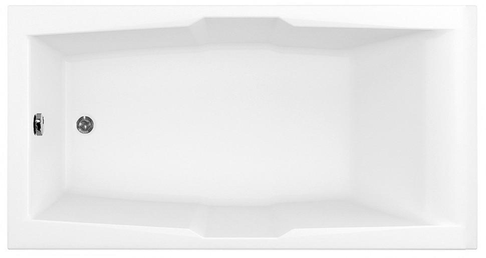 Акриловая ванна 190x100 см Aquanet Vega 00205556 акриловая ванна aquanet vitoria 204049