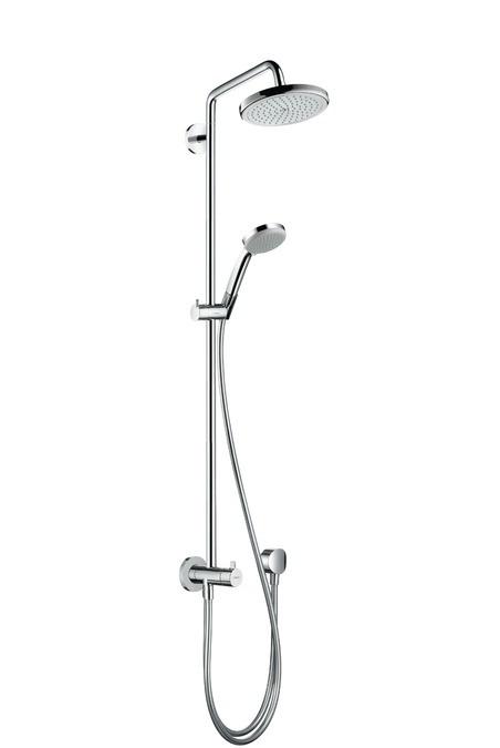 Душевая система Hansgrohe Croma 220 Showerpipe Reno 27224000 цена